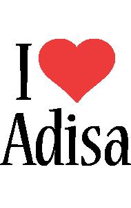 Adisa i-love logo