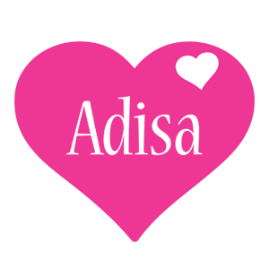 Adisa love-heart logo