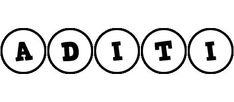 Aditi handy logo