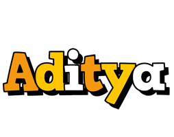 Aditya cartoon logo