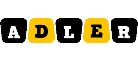 Adler boots logo