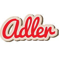 Adler chocolate logo