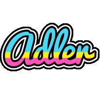 Adler circus logo