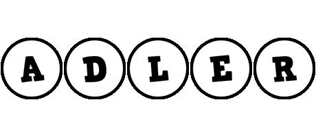 Adler handy logo