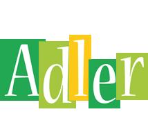 Adler lemonade logo