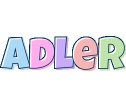 Adler pastel logo