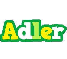 Adler soccer logo