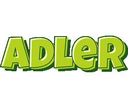 Adler summer logo