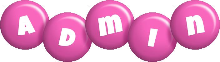Admin candy-pink logo
