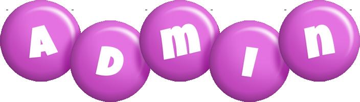 Admin candy-purple logo