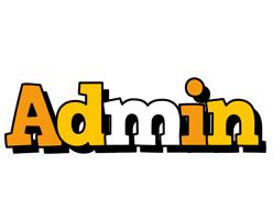 Admin cartoon logo