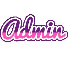 Admin cheerful logo