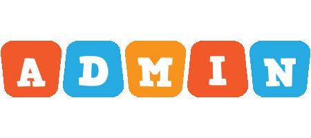 Admin comics logo