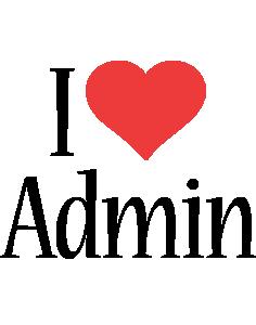 Admin i-love logo