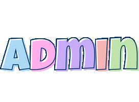 Admin pastel logo