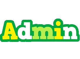 Admin soccer logo