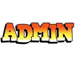 Admin sunset logo