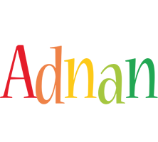 Adnan birthday logo