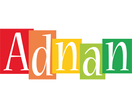Adnan colors logo