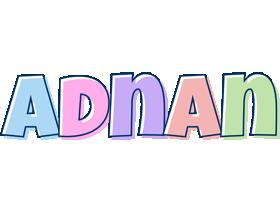 Adnan pastel logo