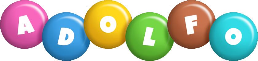 Adolfo candy logo