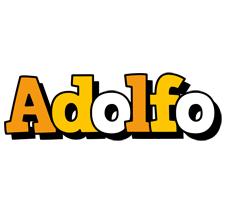 Adolfo cartoon logo