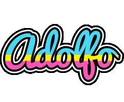 Adolfo circus logo