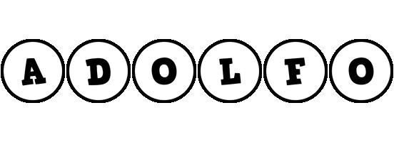 Adolfo handy logo