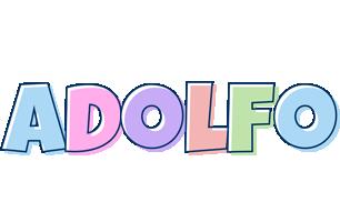 Adolfo pastel logo