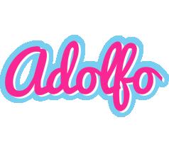 Adolfo popstar logo