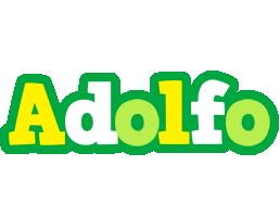 Adolfo soccer logo