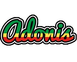 Adonis african logo