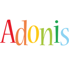 Adonis birthday logo