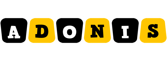 Adonis boots logo