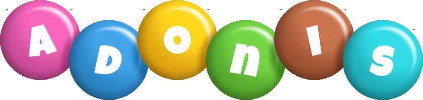 Adonis candy logo
