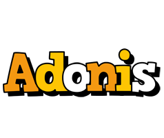 Adonis cartoon logo