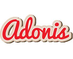 Adonis chocolate logo