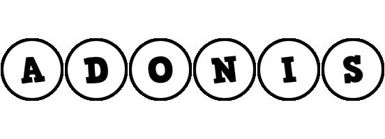 Adonis handy logo