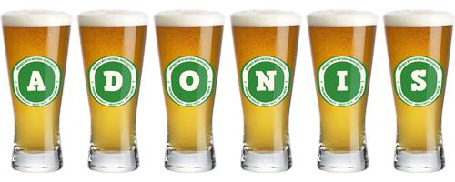 Adonis lager logo