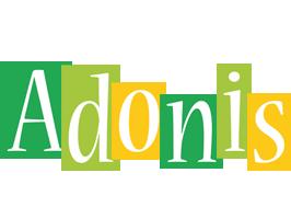 Adonis lemonade logo