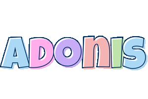 Adonis pastel logo