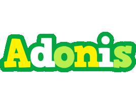 Adonis soccer logo