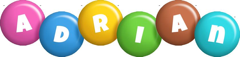 Adrian candy logo