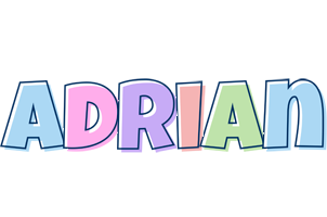 Adrian pastel logo