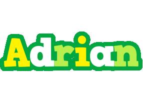 Adrian soccer logo