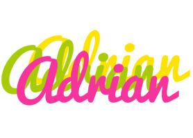 Adrian sweets logo