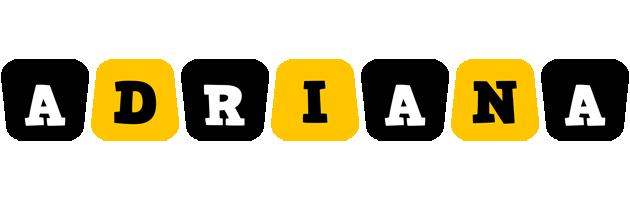 Adriana boots logo