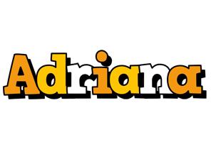 Adriana cartoon logo