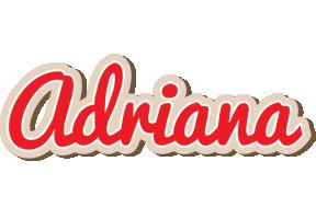 Adriana chocolate logo