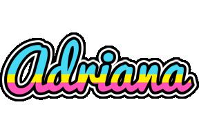 Adriana circus logo